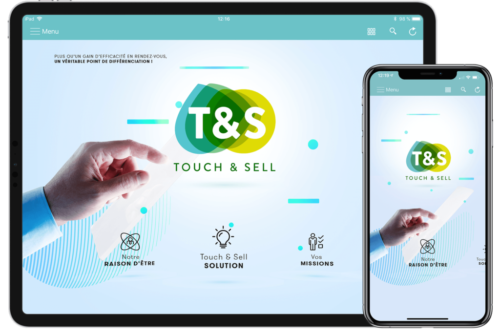 touch & sell tablette-phone